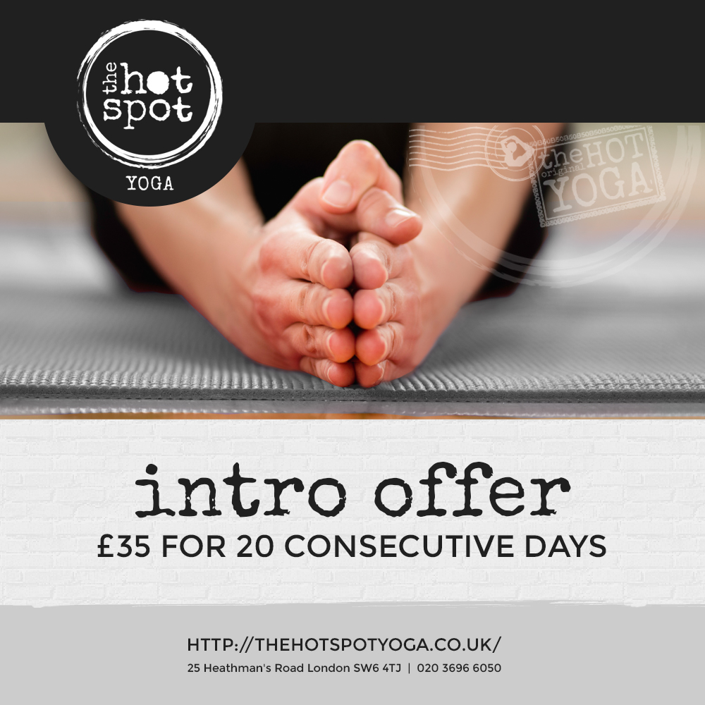 The Hot Spot Yoga offer